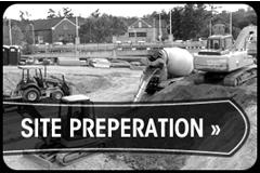 Site Preperation, Digouts